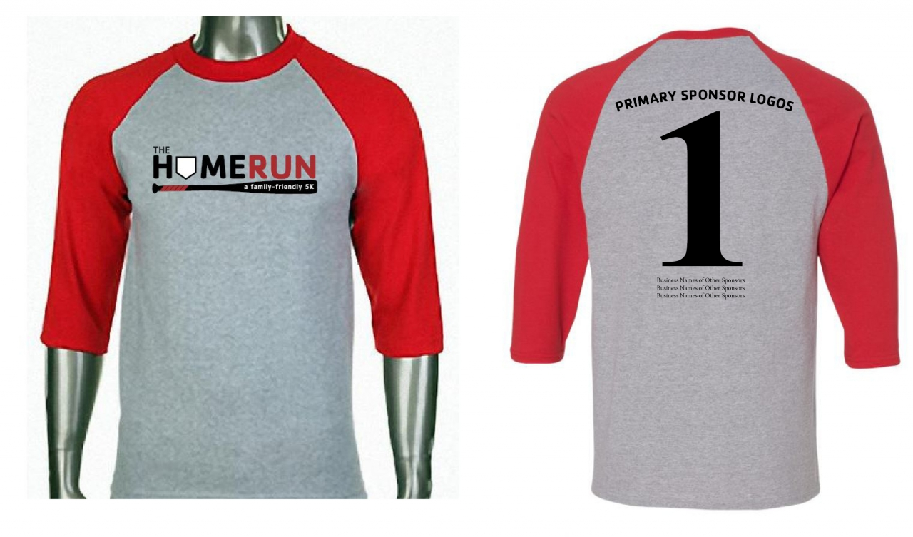 HomeRun 5K Baseball T