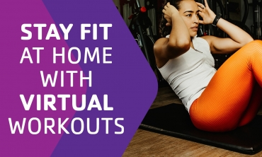Stay Fit at Home with Virtual Workouts!