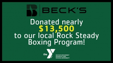 Beck's Rock Steady Boxing Donation